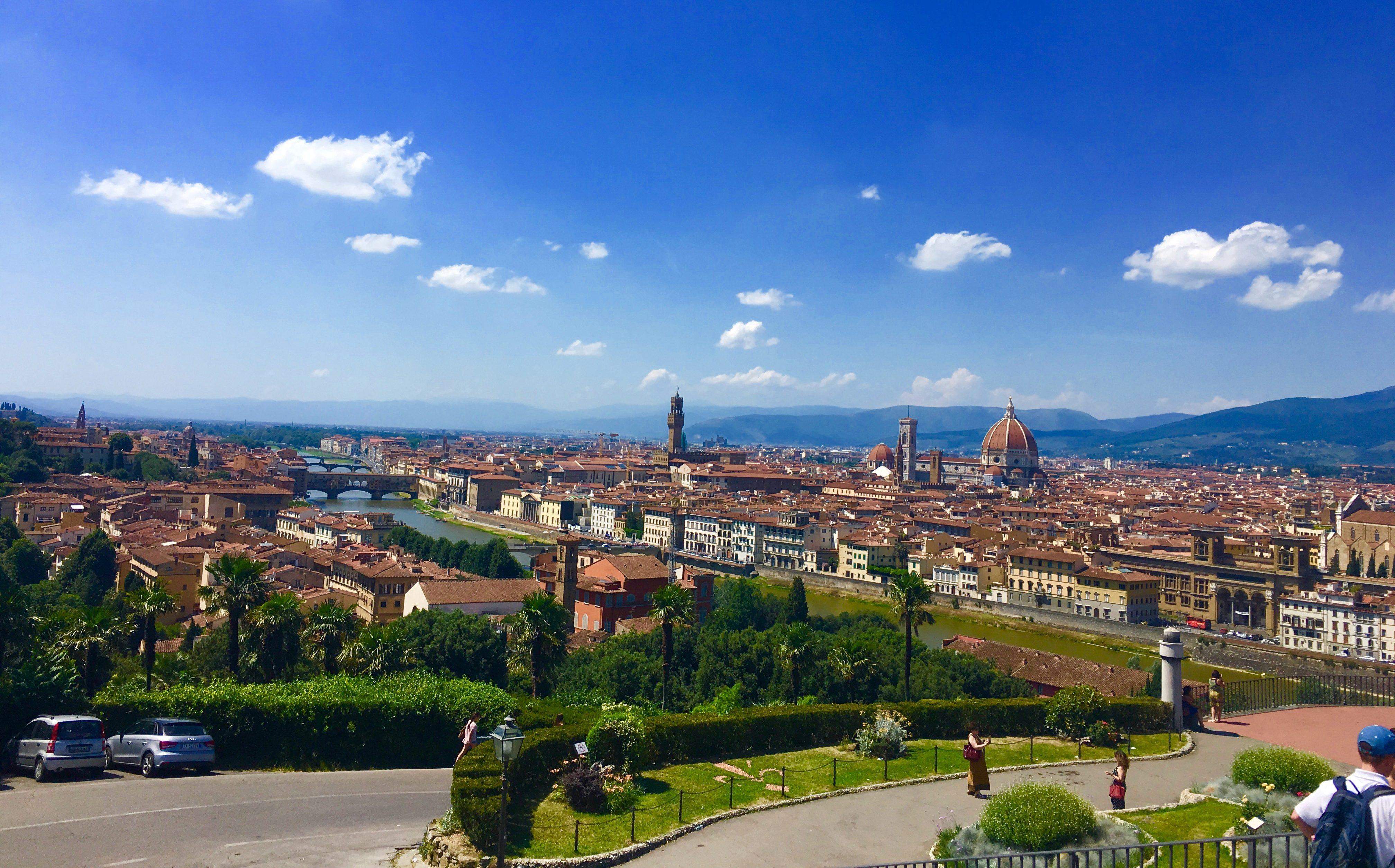 Florencja Wzgórze Michała Anioła
