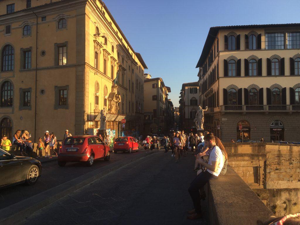 Florencja most Świętej Trójcy