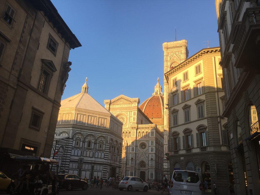 Florencja Piazza del Duomo