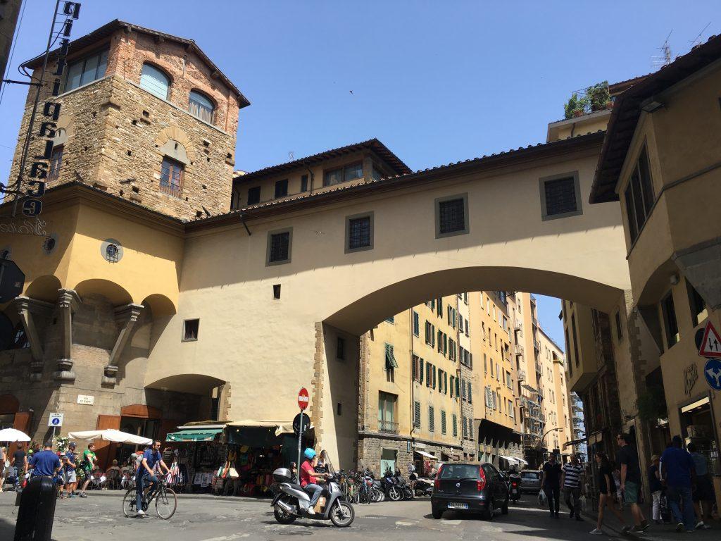 Florencja most Ponte Vecchio
