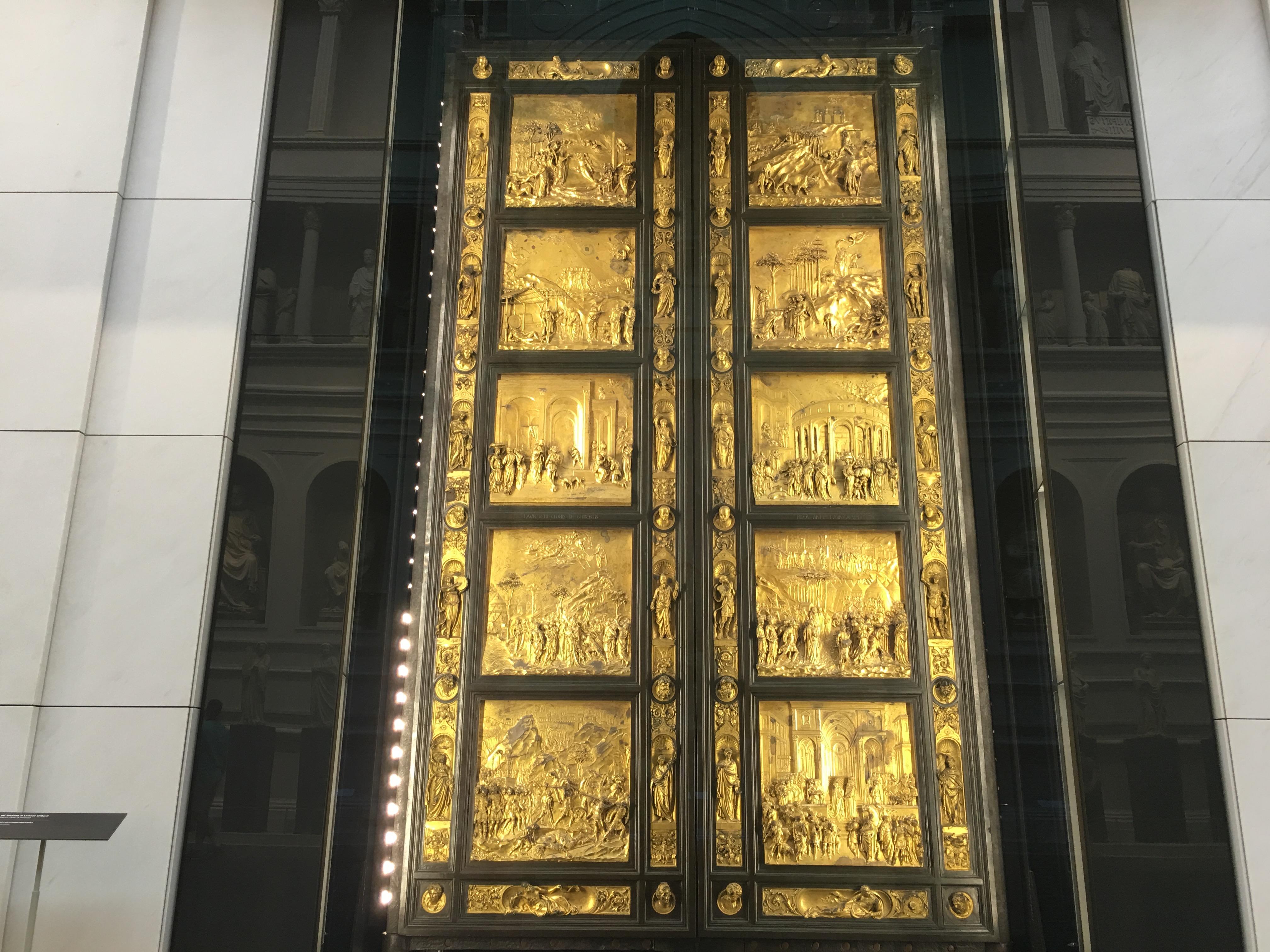 Florencja Baptysterium Drzwi do raju - Porta del Paradiso