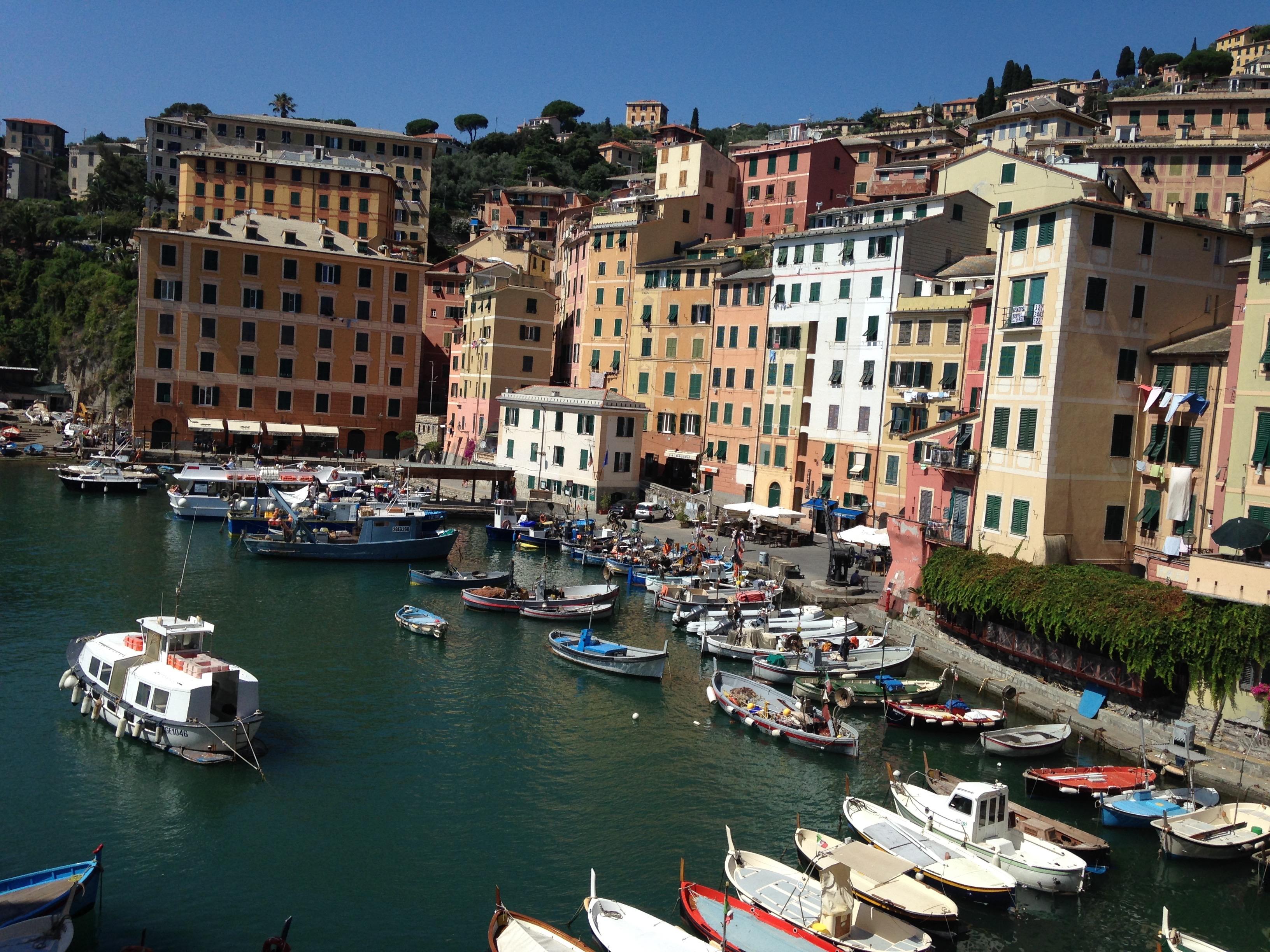 Liguria ciekawe miejsca Camogli
