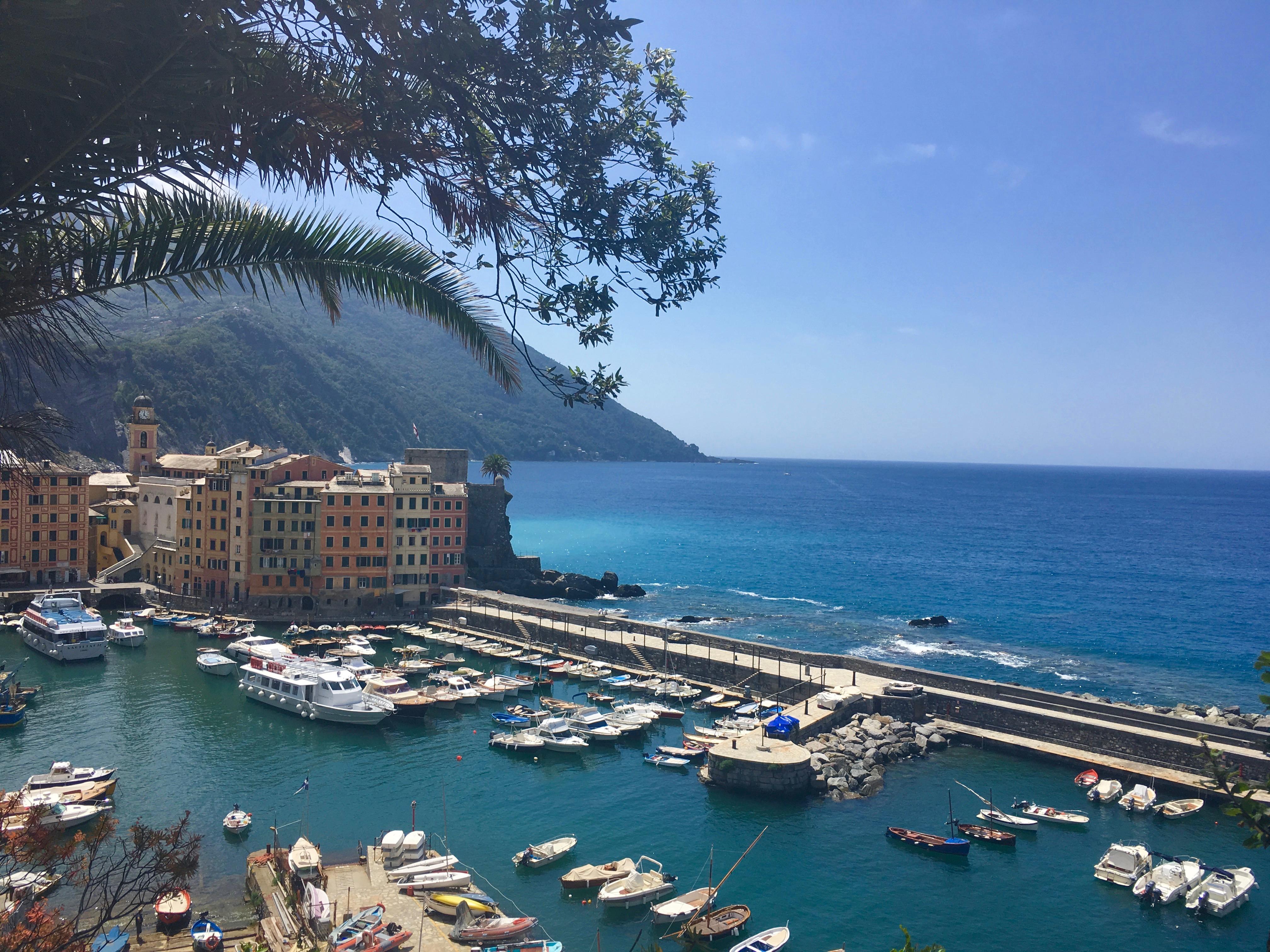 Liguria zwiedzanie Camogli