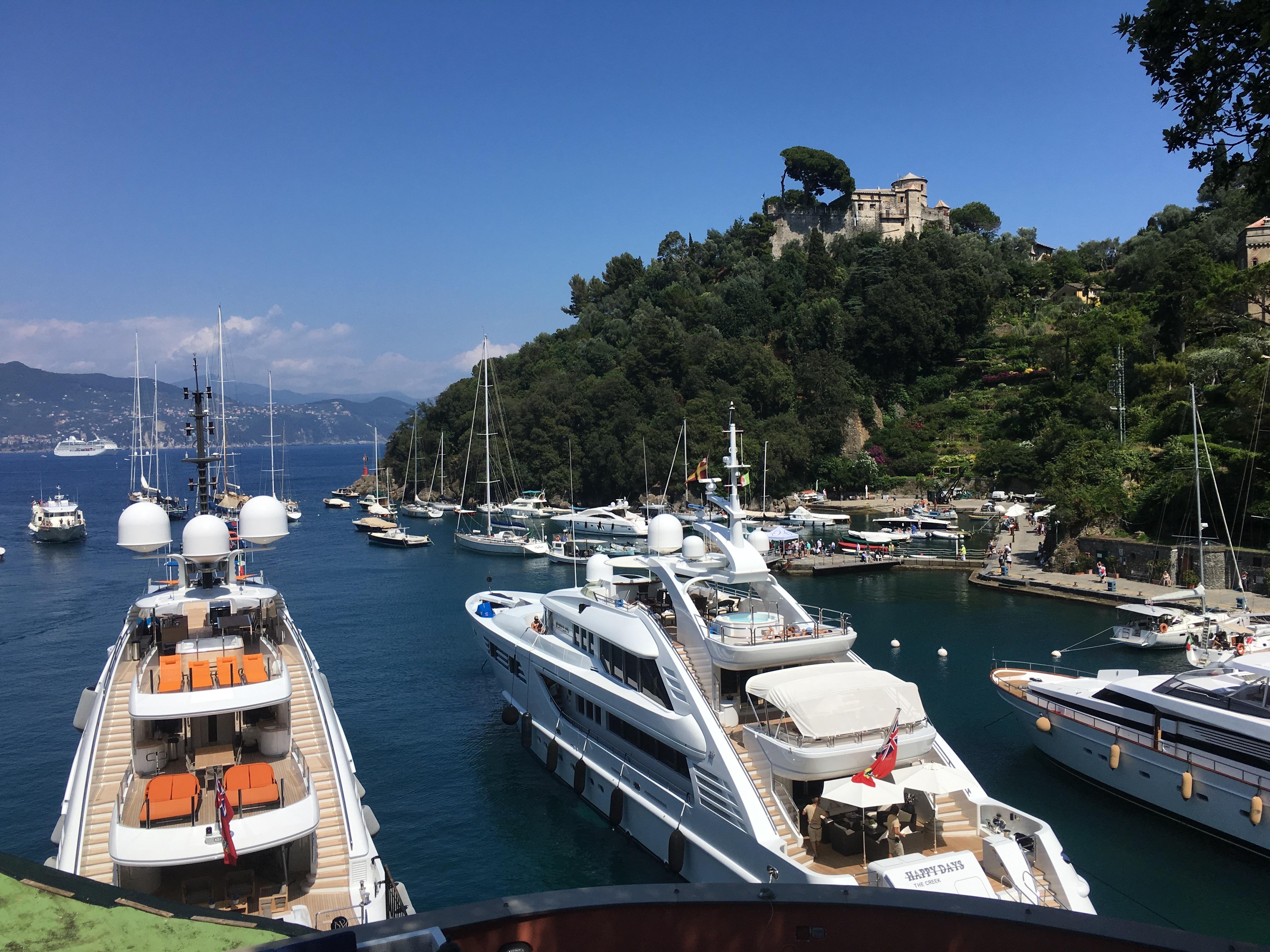 jachty w Portofino