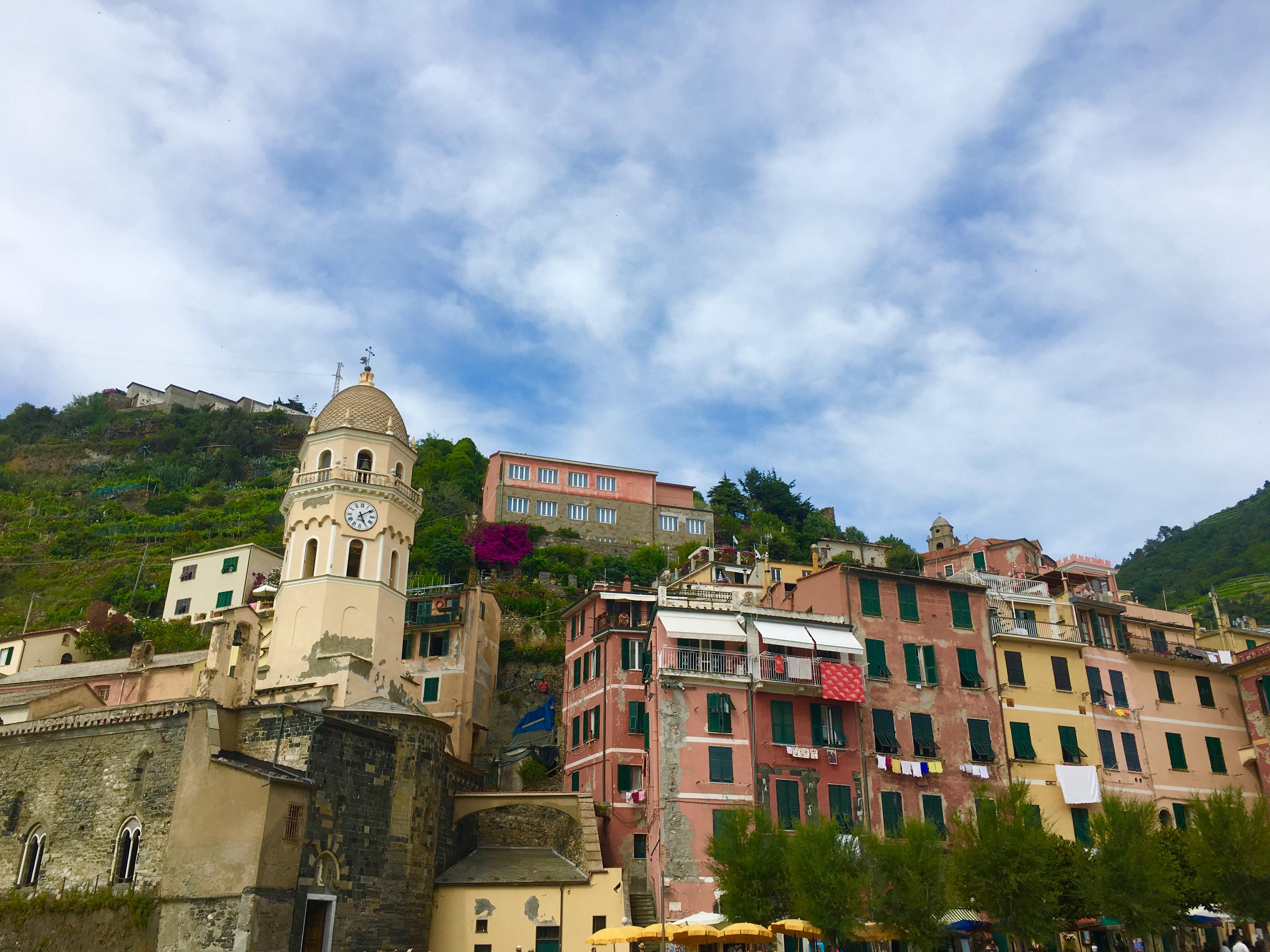 Liguria najpiękniejsze miejsca Vernazza