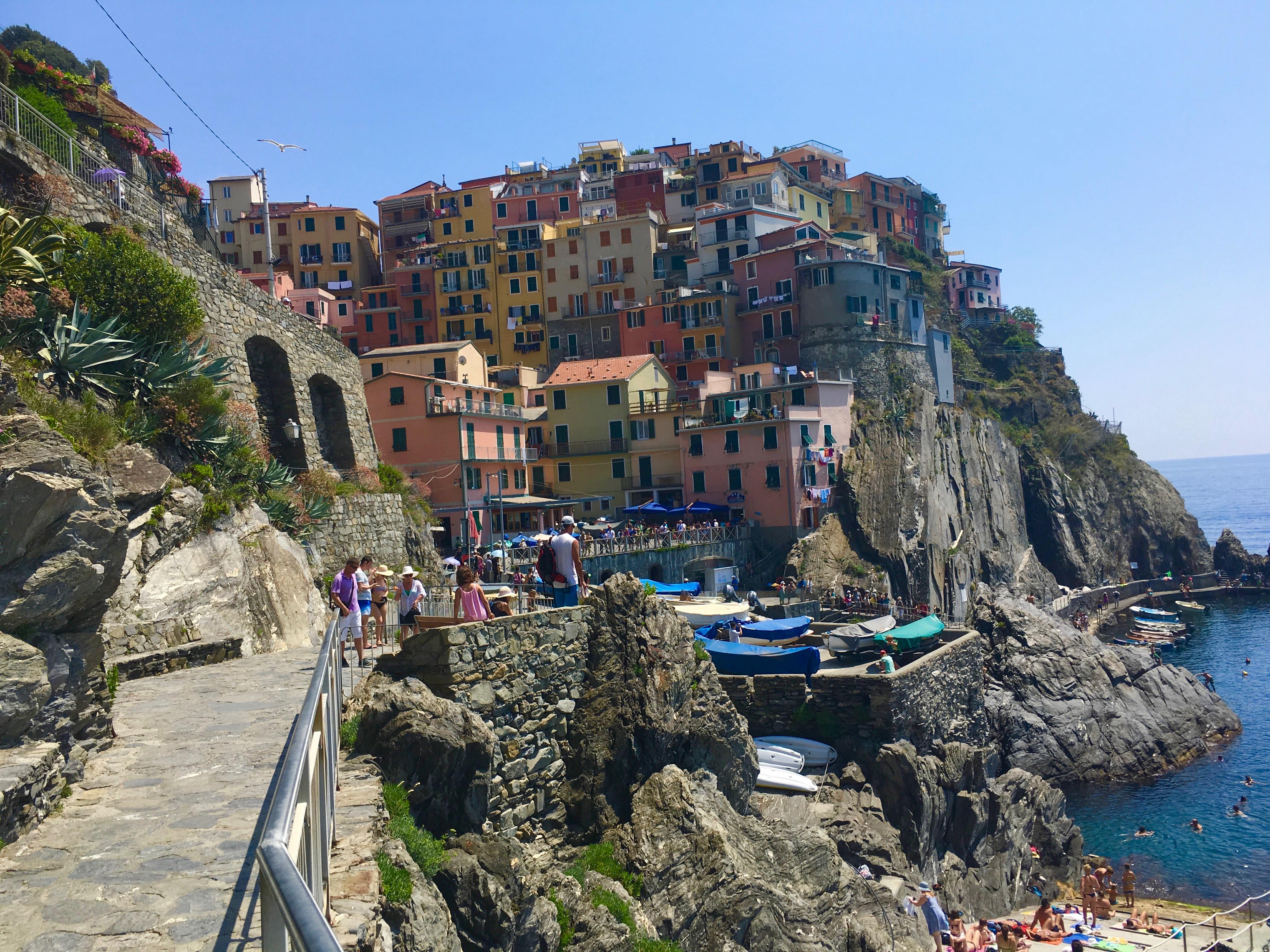 zwiedzanie Ligurii i Cinque Terre
