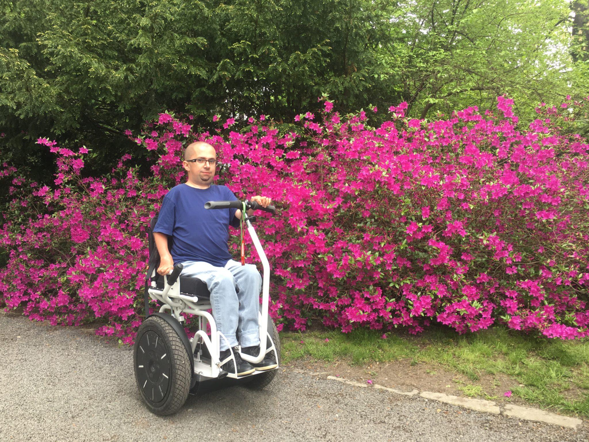 blumil wózek inwalidzki