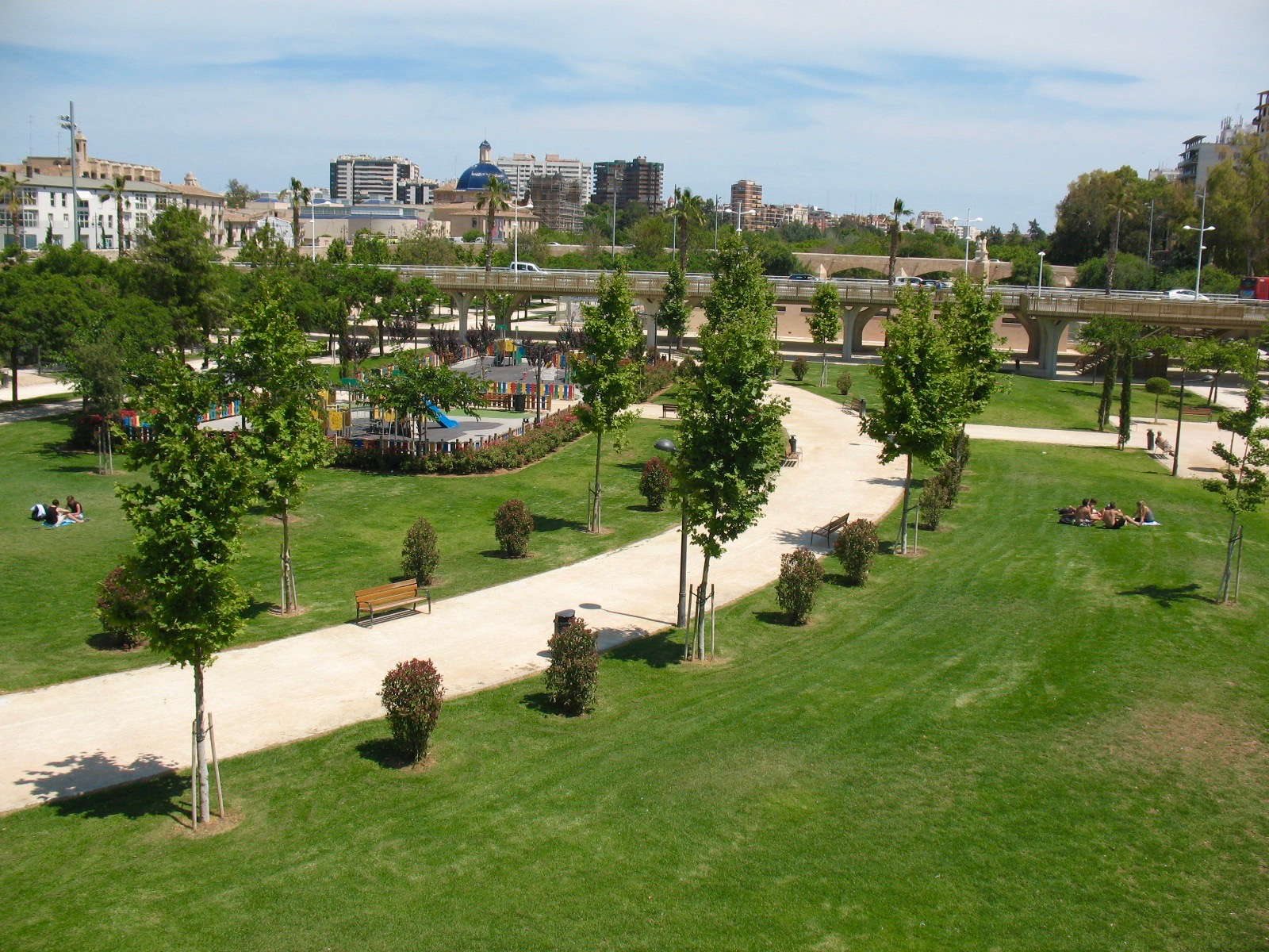 Jardin del turia - Ogrody Turii