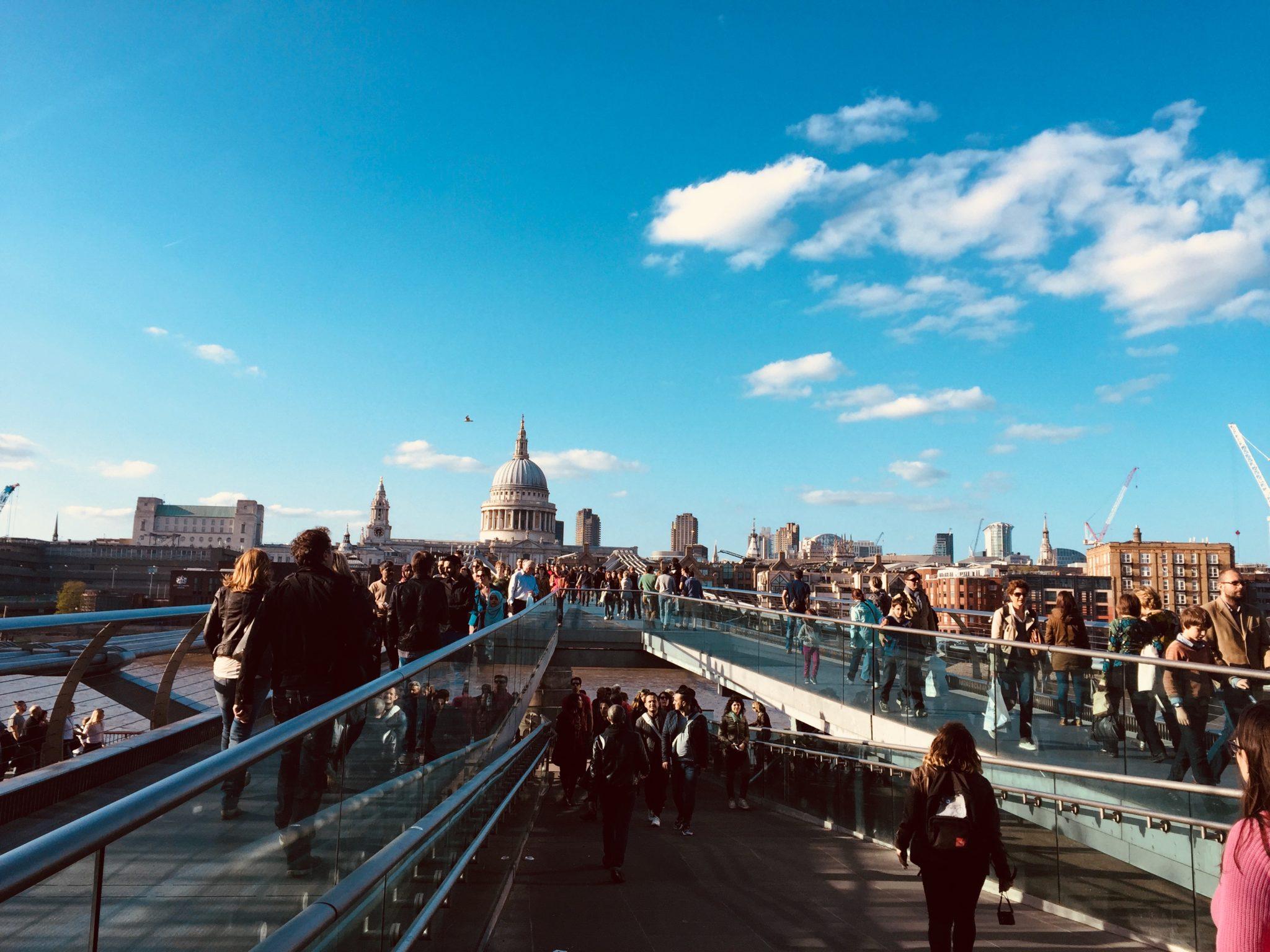 Kładka widokowa Millenium Bridge