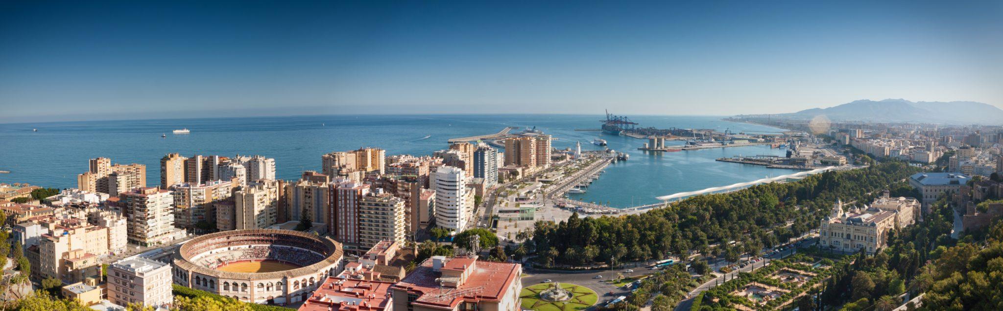 Malaga - miejsca w europie gdzie jest ciepło w zimie