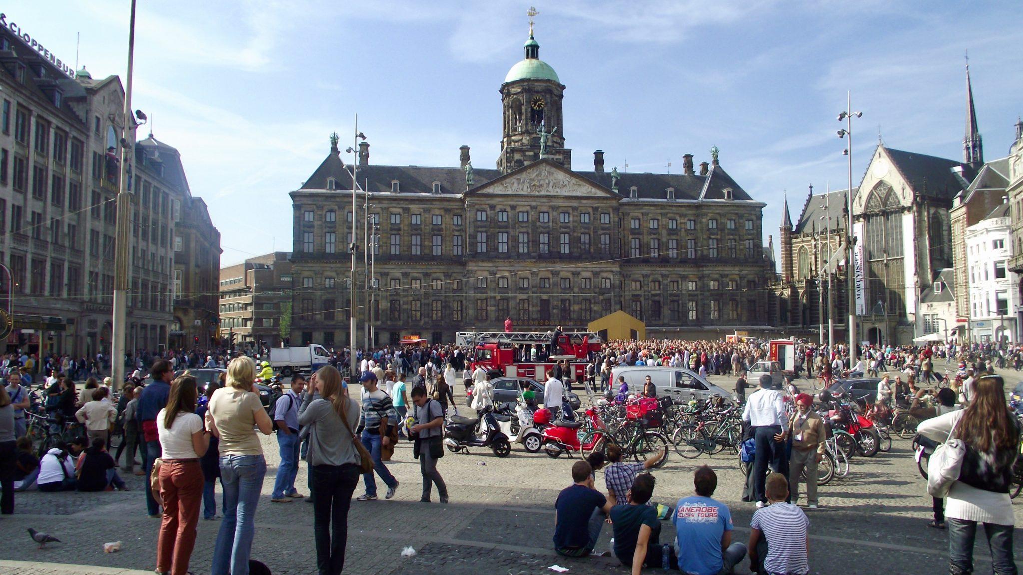 Plac Dam Amsterdam