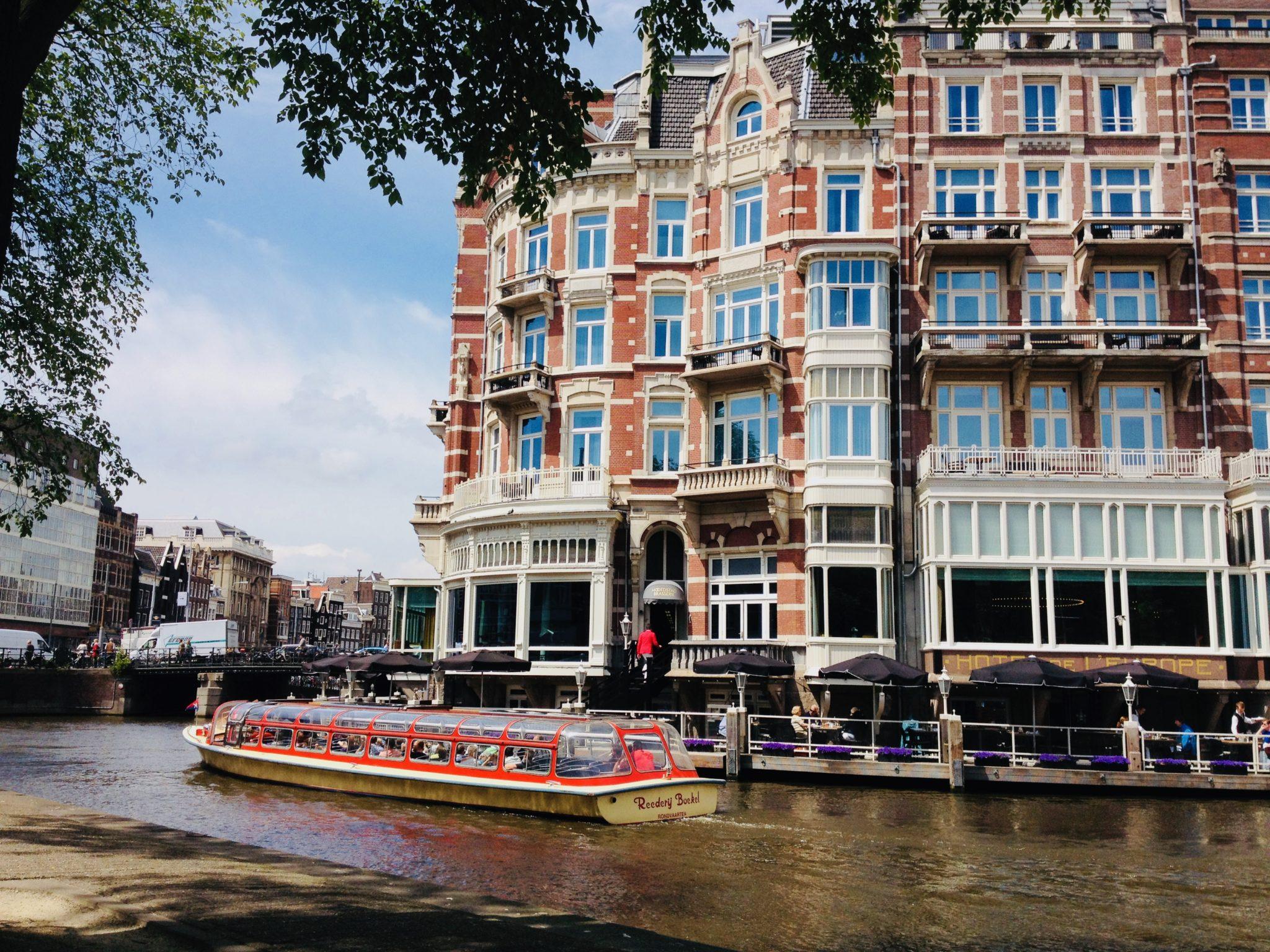 Amsterdam kanały