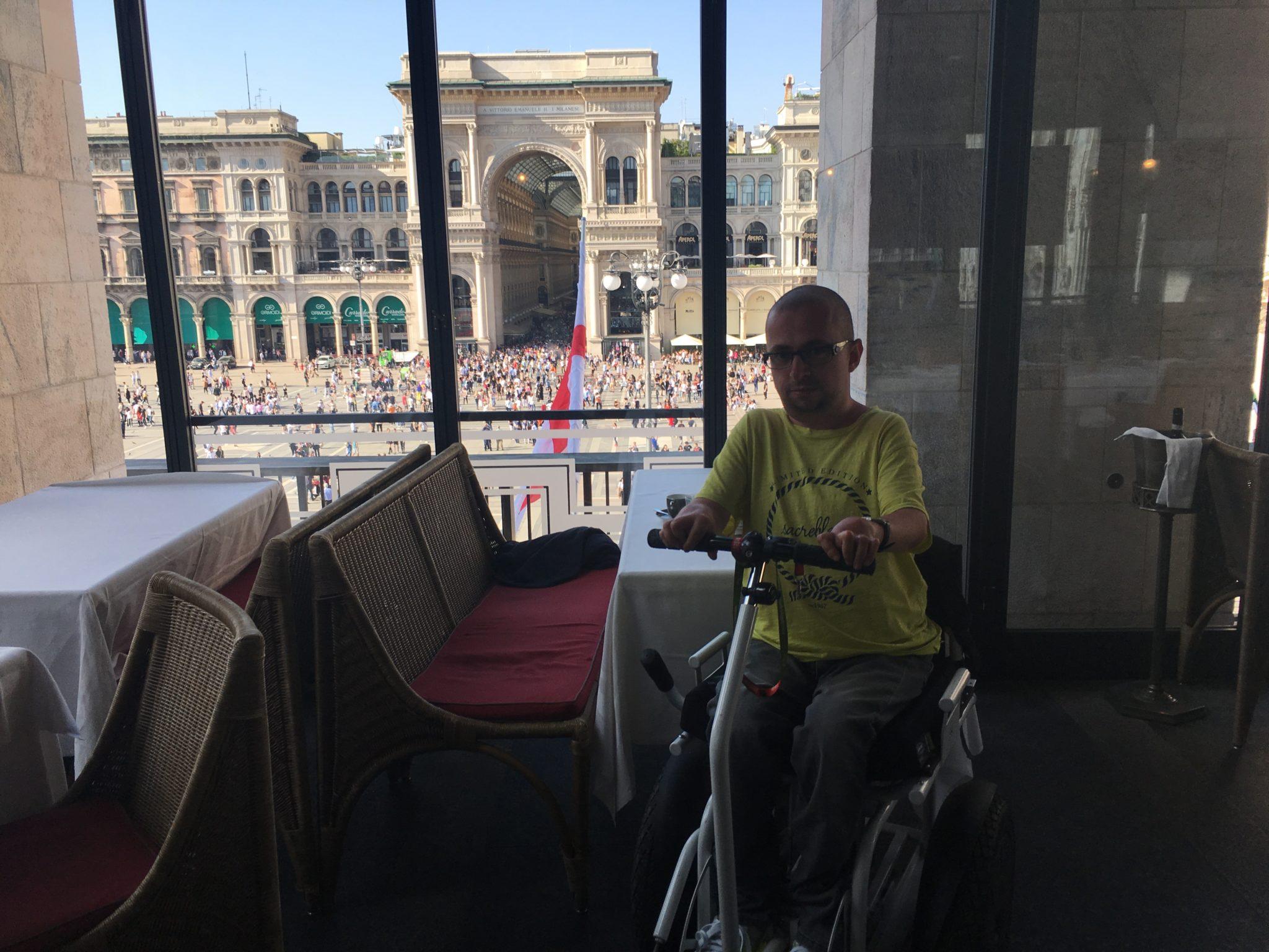 Widok z Giacomo Arengari