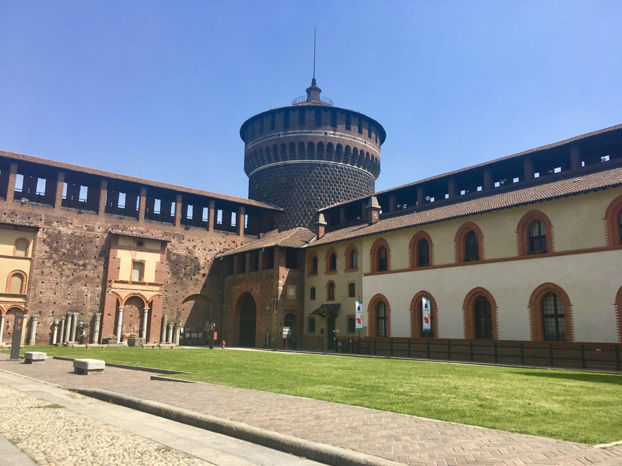 Zamek Sforza