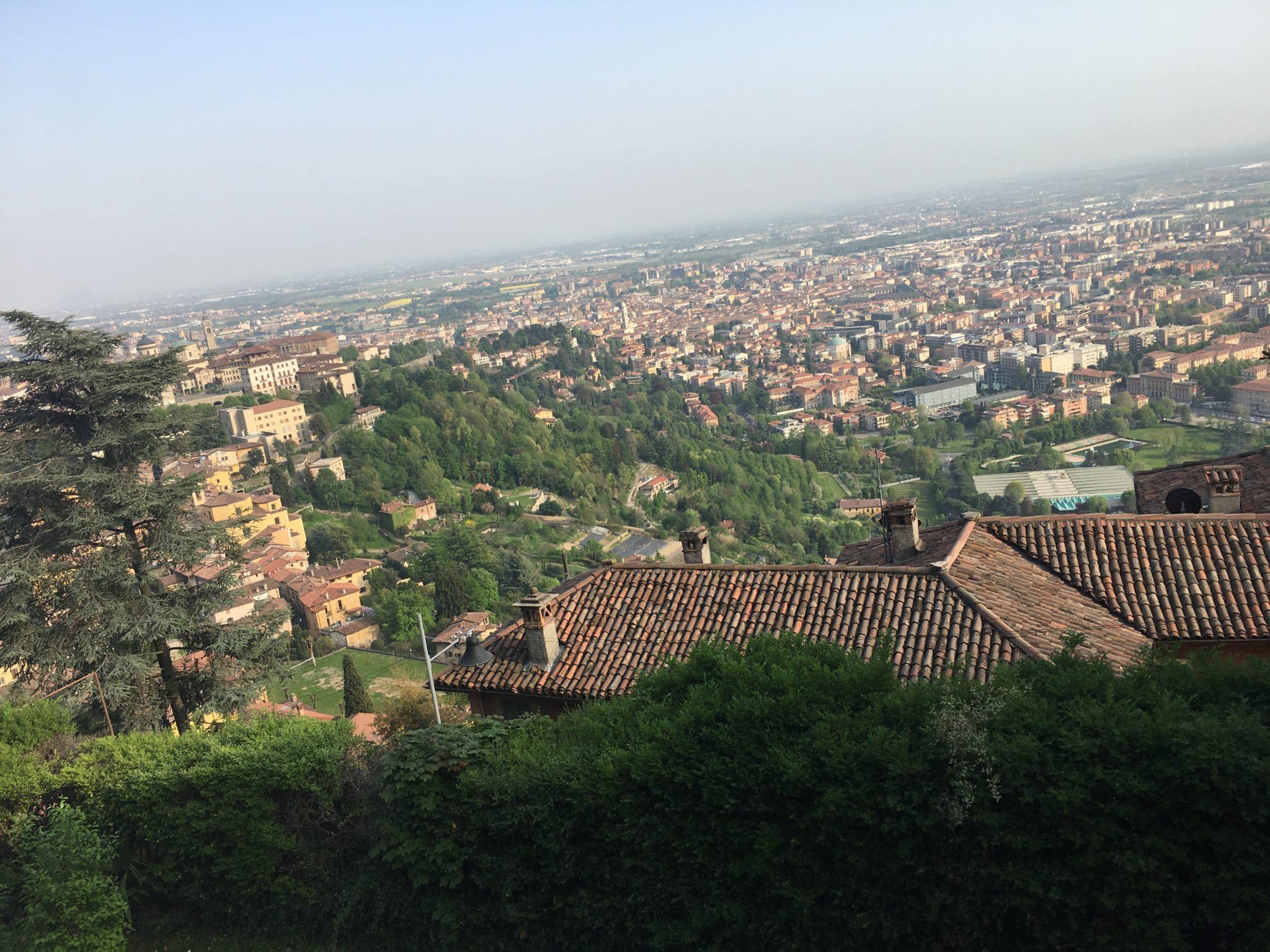 widok ze wzgórza San Vigilio