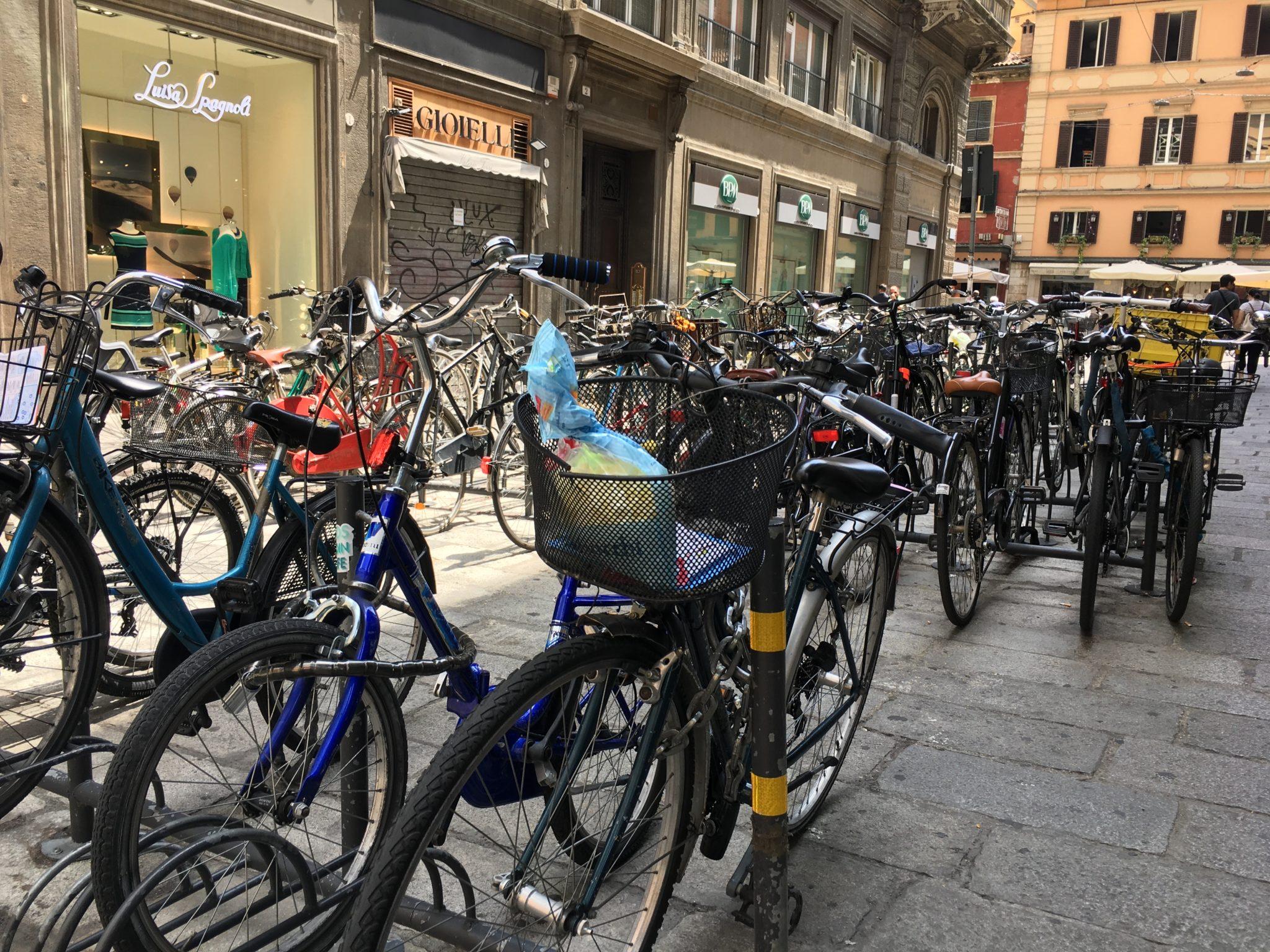 rowery w Bolonii