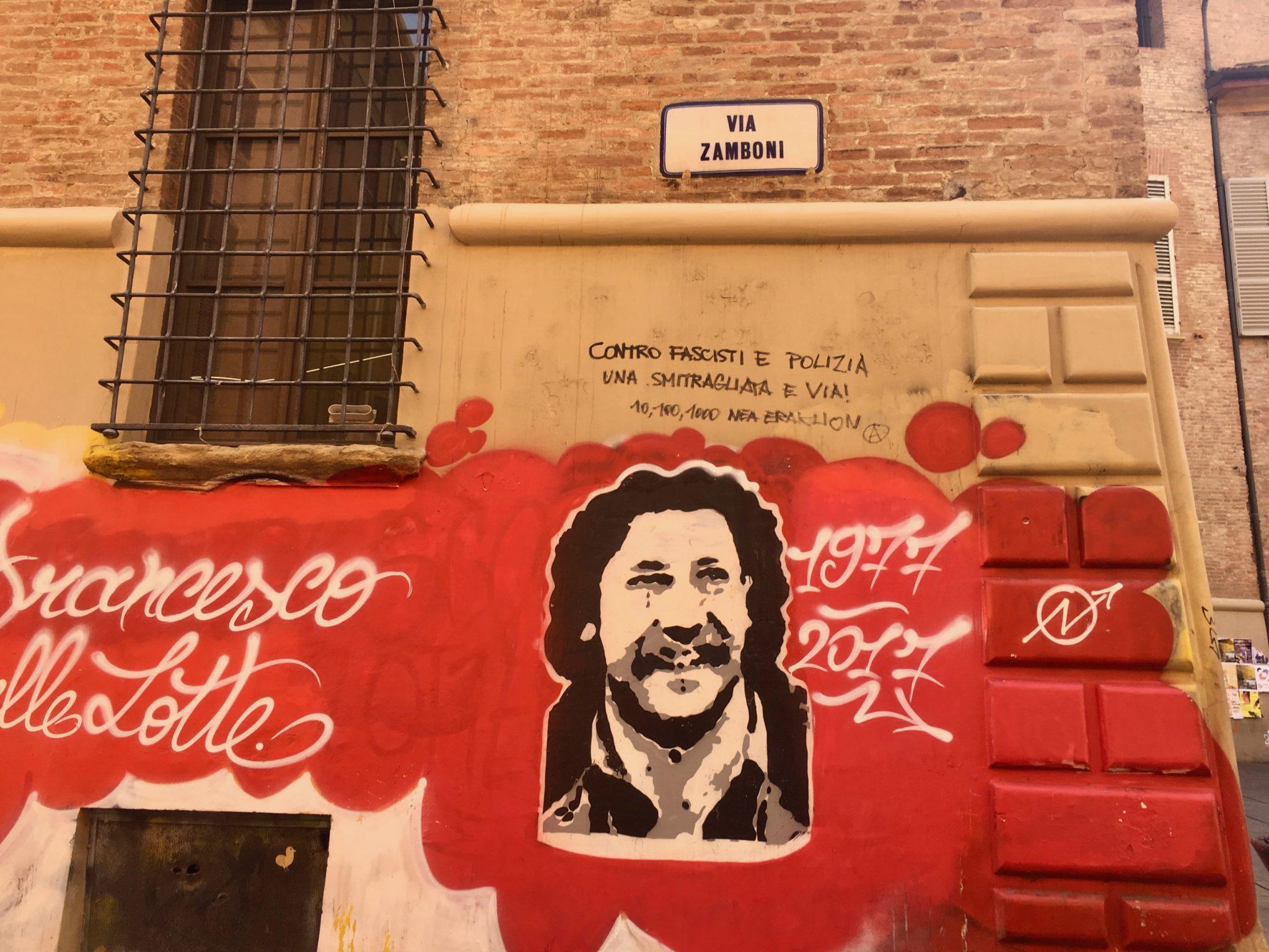 street art Bolonia Viza Zamboni