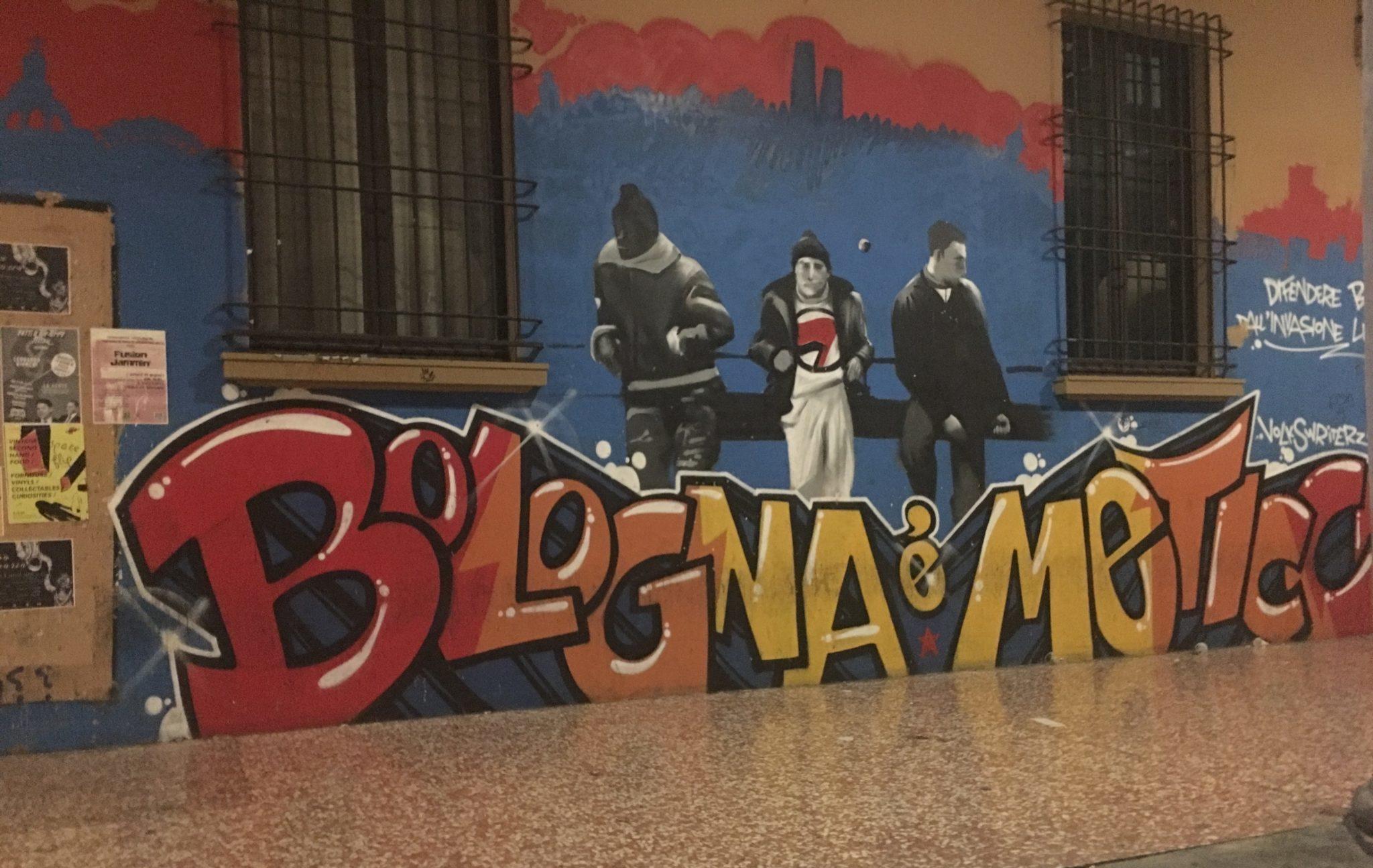 street art Bolonia