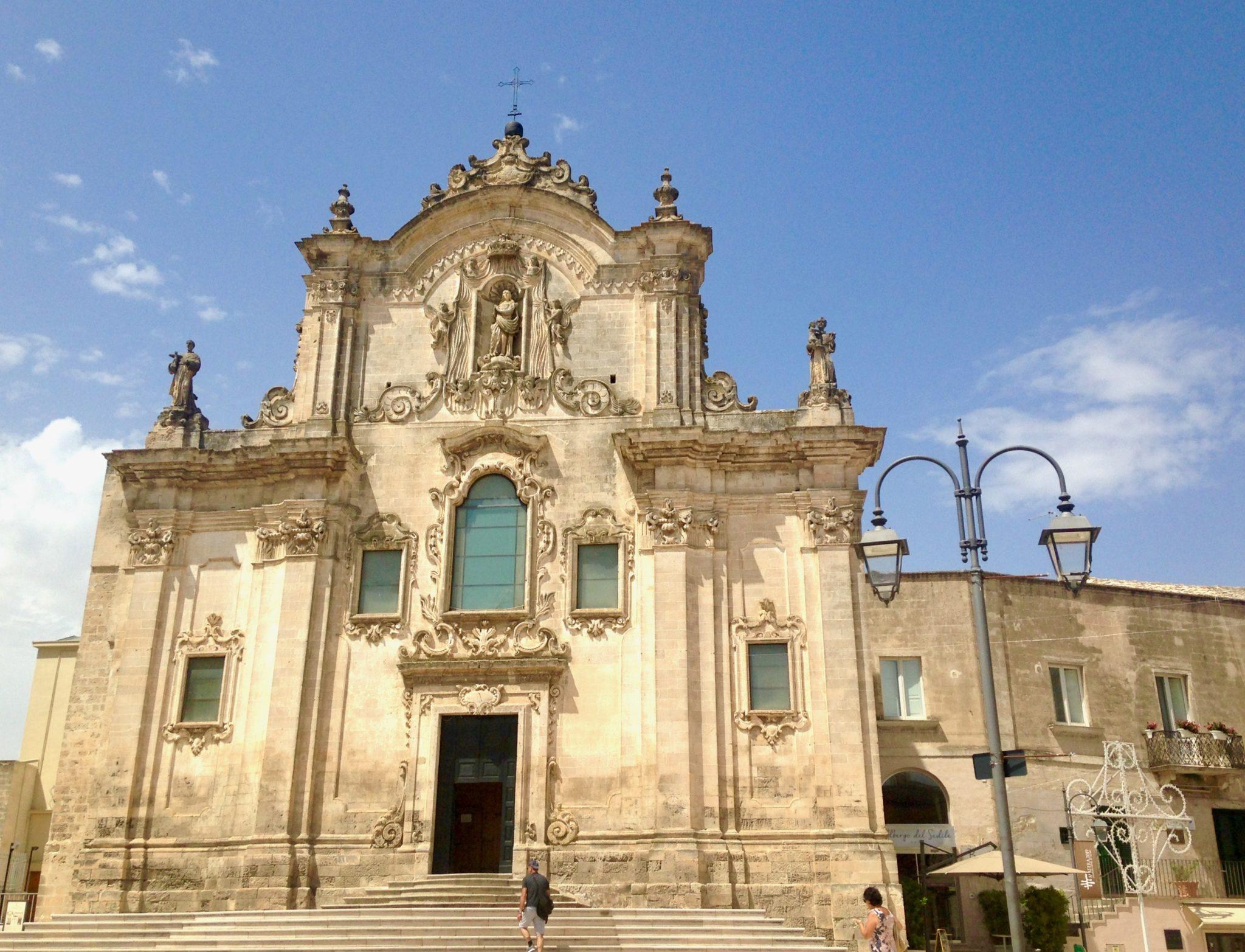 Matera kościół