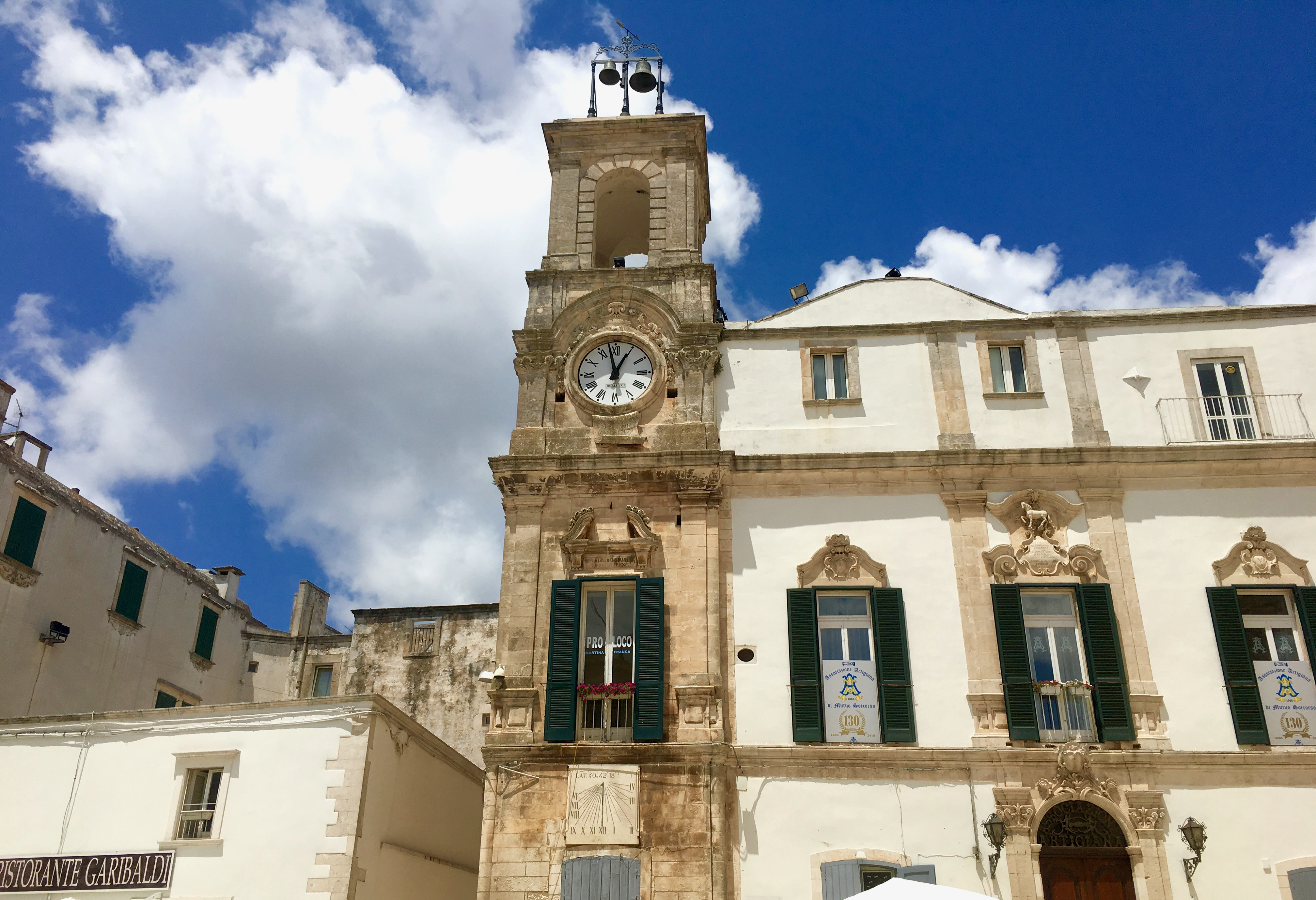 Martina Franca zwiedzanie dznnicy
