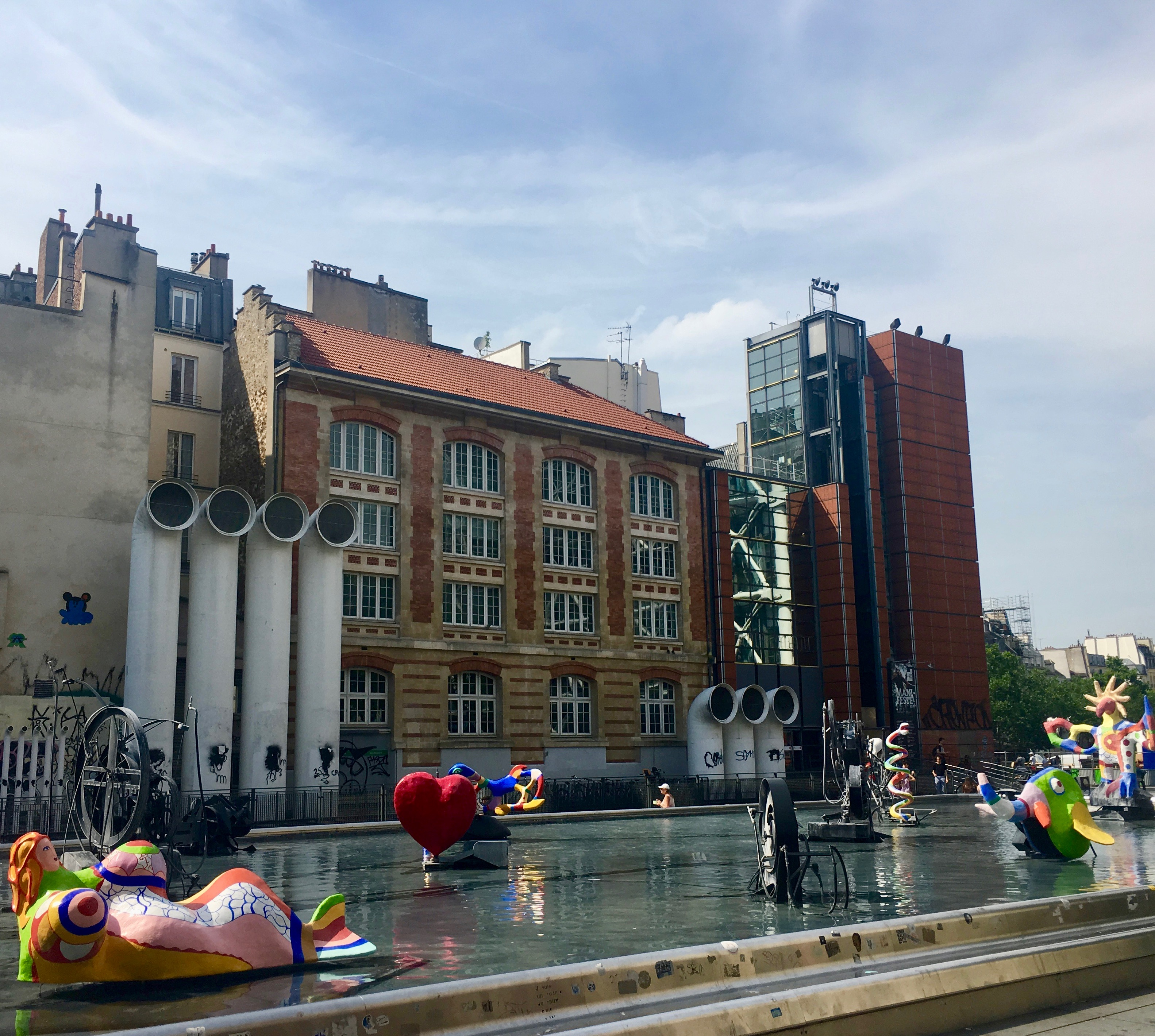 fontanna Strawińskiego