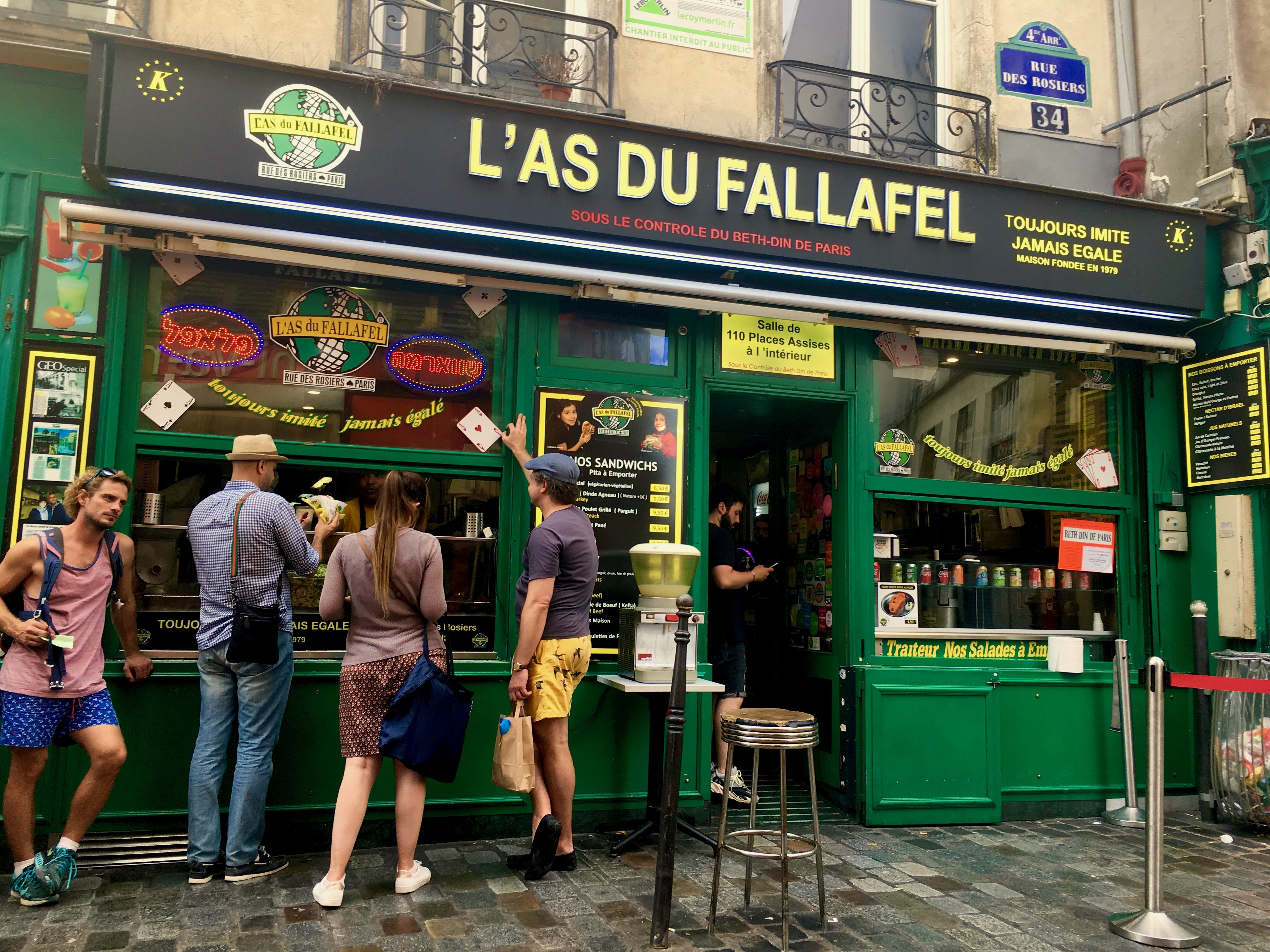 L'as du Fallafel Paryż