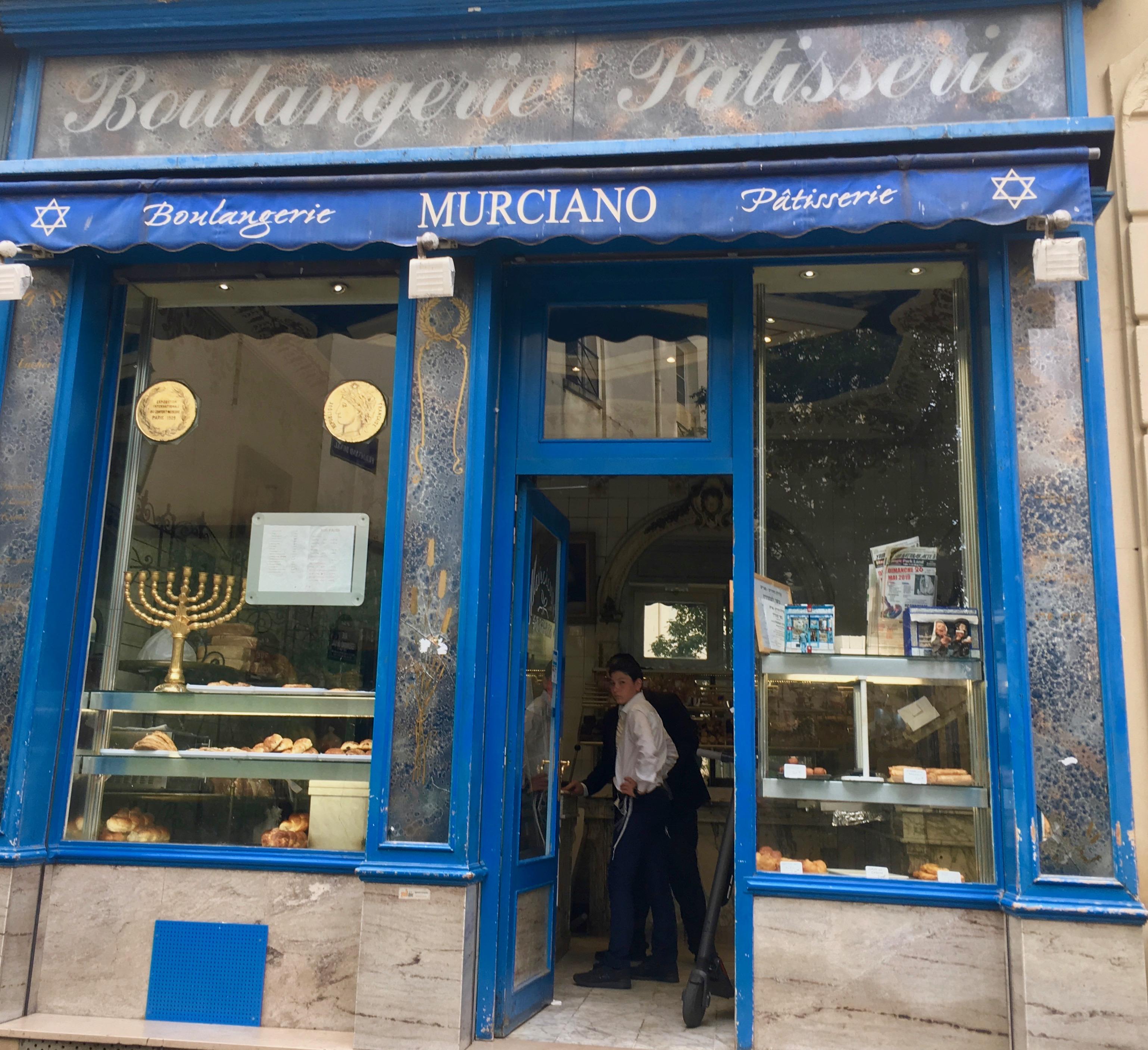 dzielnica żydowska Paryż