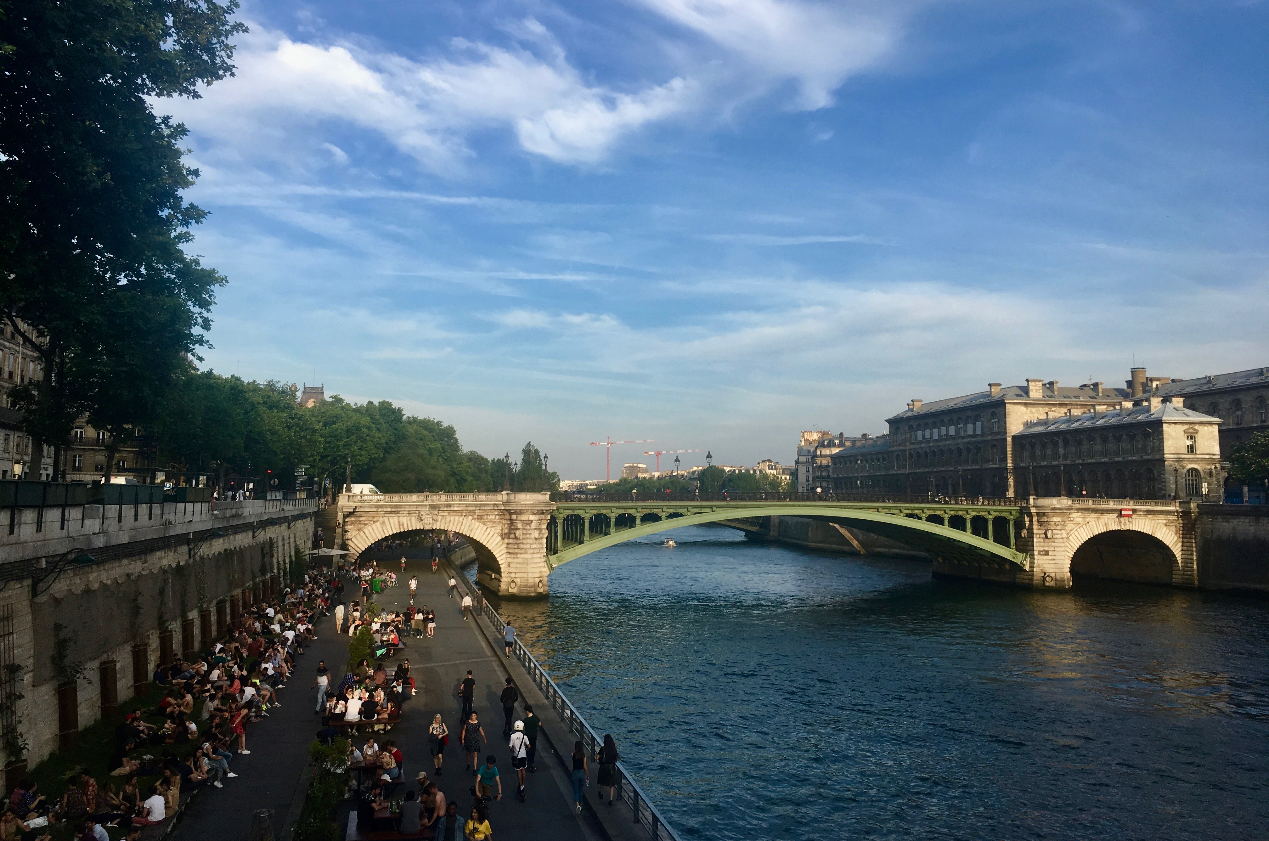 Sekwana Paryż