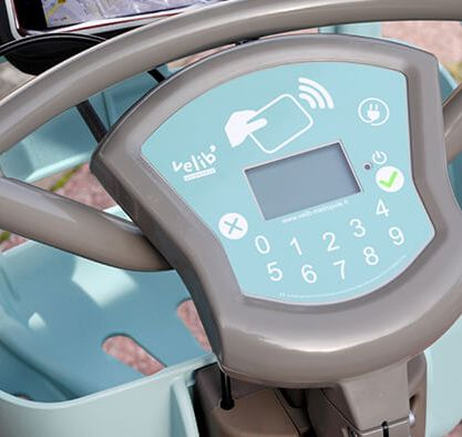 rower elektryczny velib