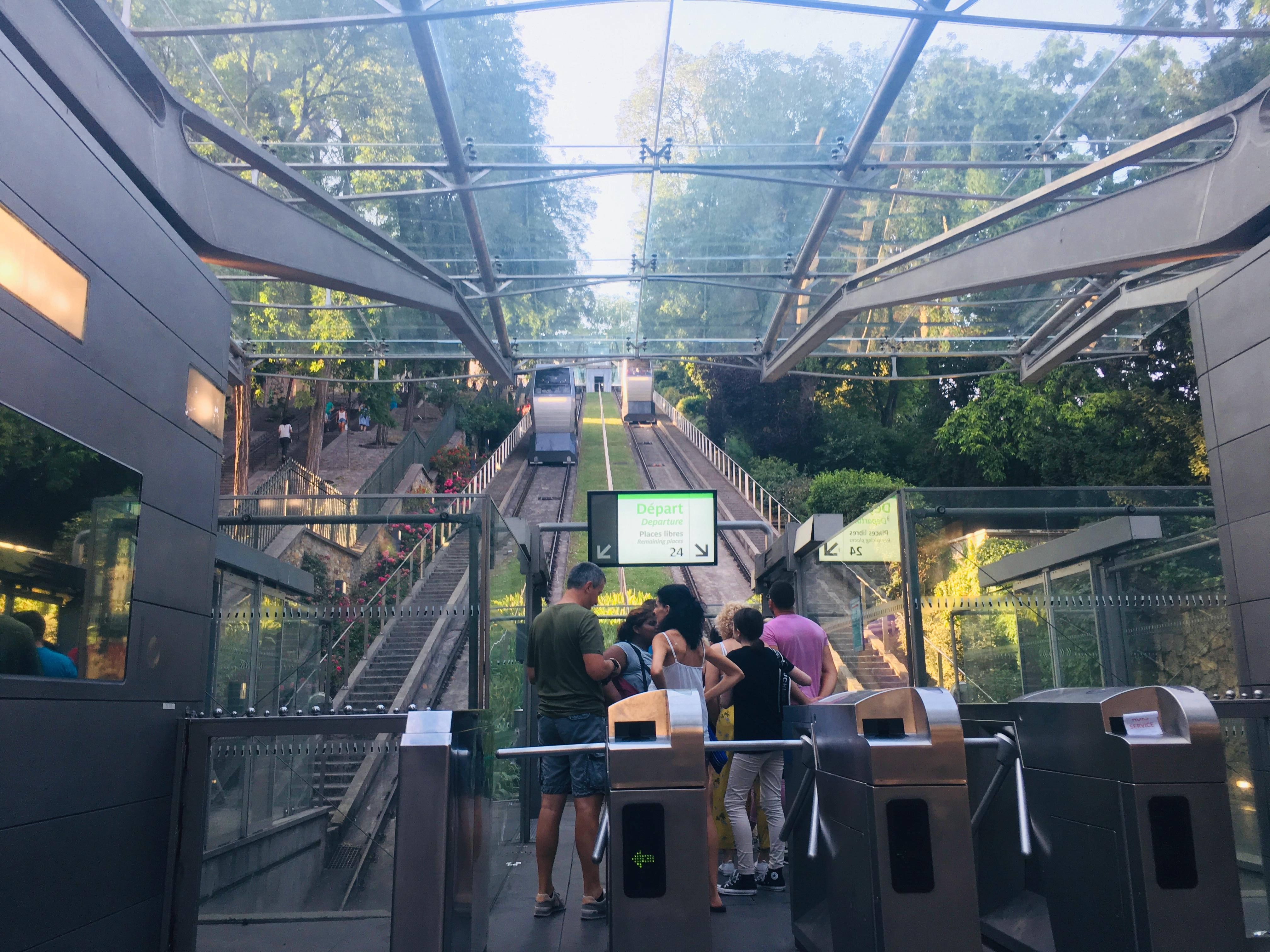 Kolejka linowo-terenowa Monmartre