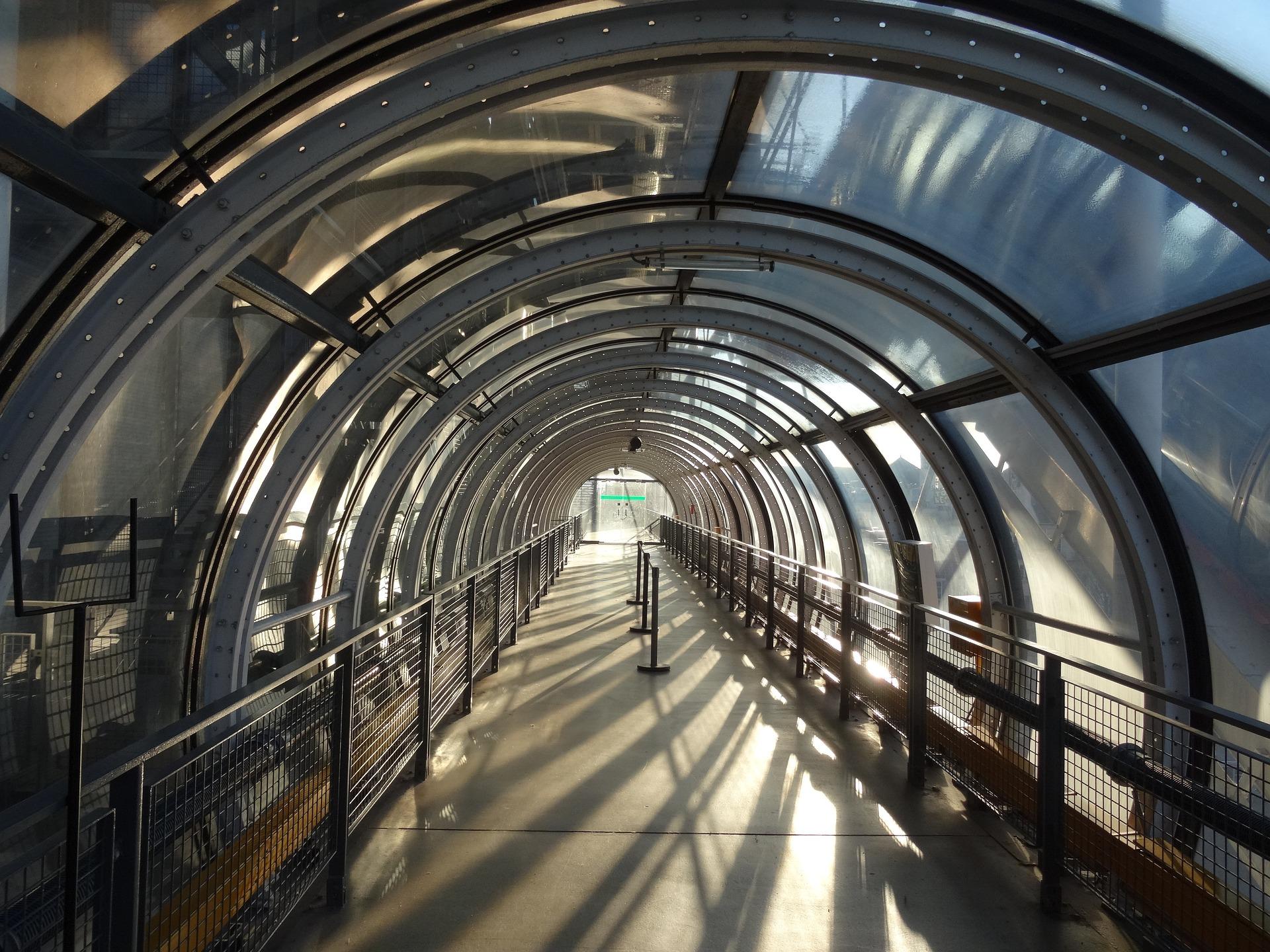 wnętrze Pompidou