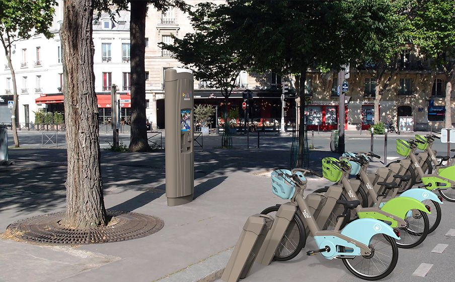 wynajem roweru w Paryżu