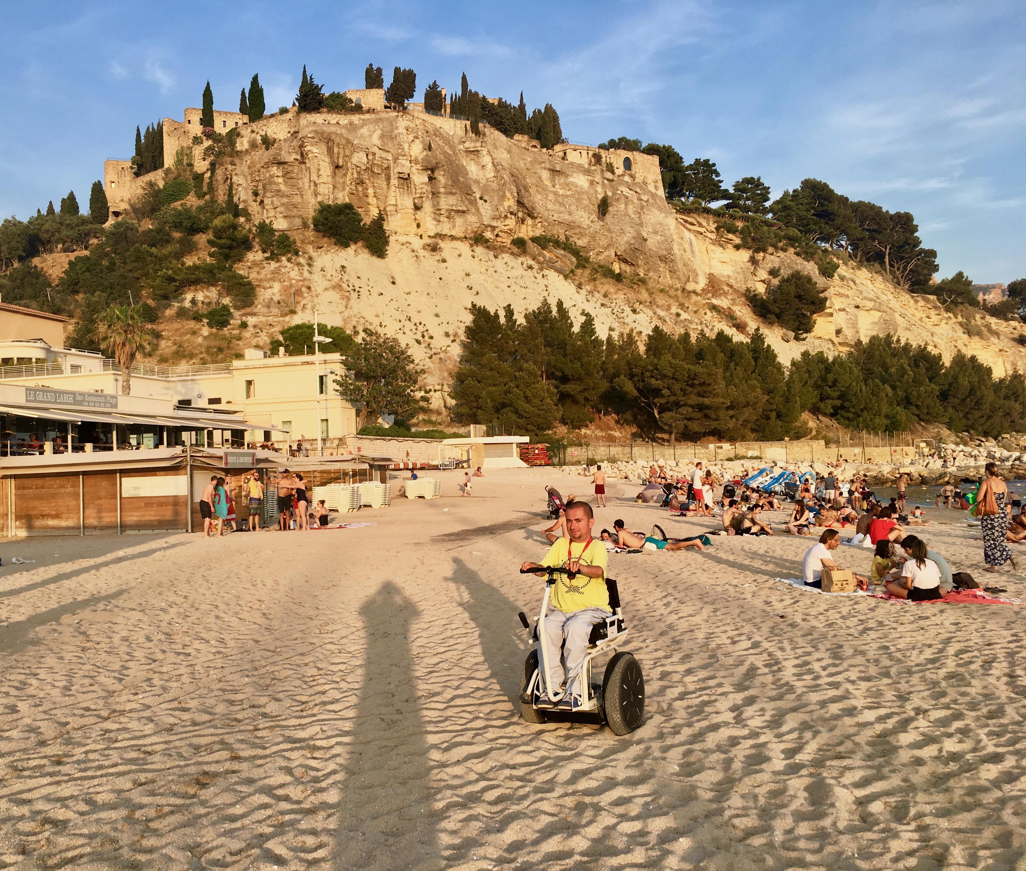 plaża w Cassis
