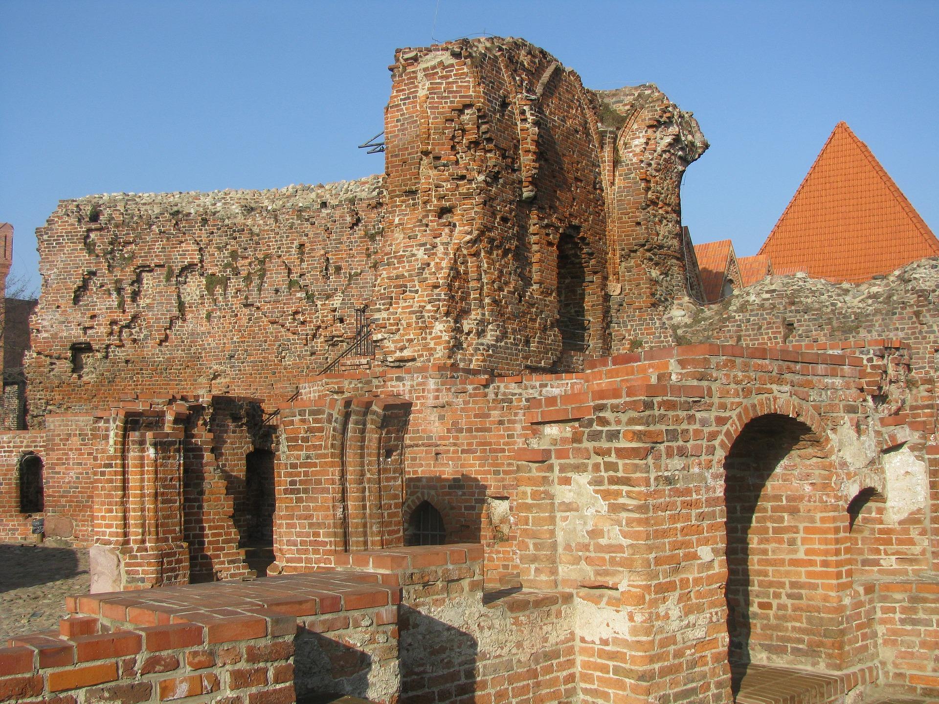 Torun ruiny Zamku Krzyzackiego